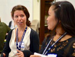 Two teacher scholars in conversation