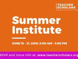 Summer Institute Banner