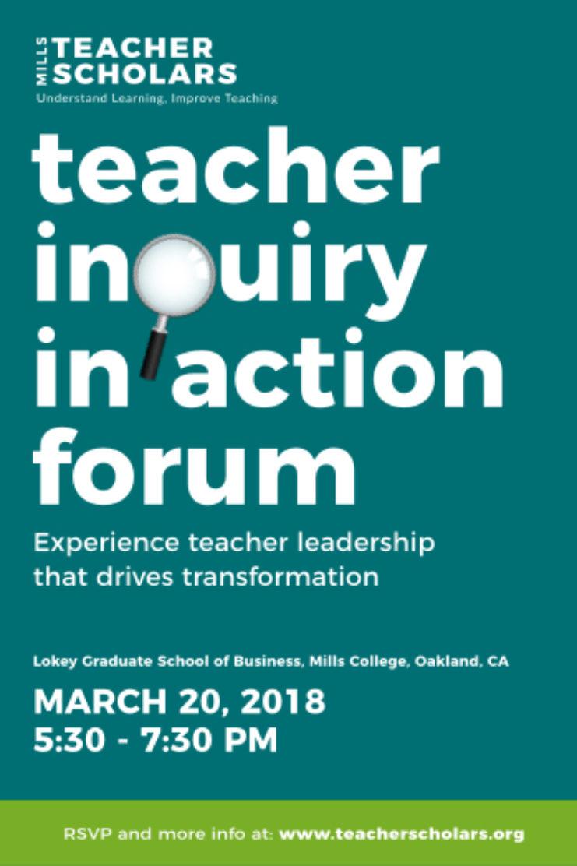 Events Workshops Mills Teacher Scholars