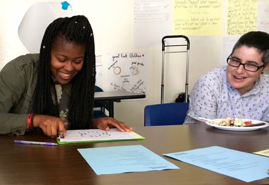Computer Science teacher scholars sharing