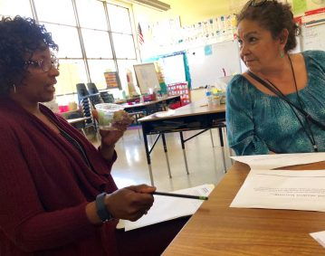 Lorenzo Manor teacher scholars sharing their learning