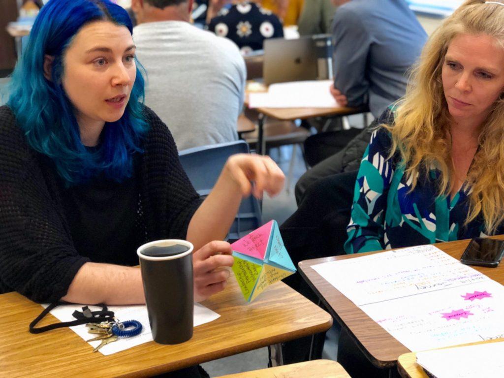 Oakland Tech teachers share their learning