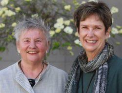Linda and Judy